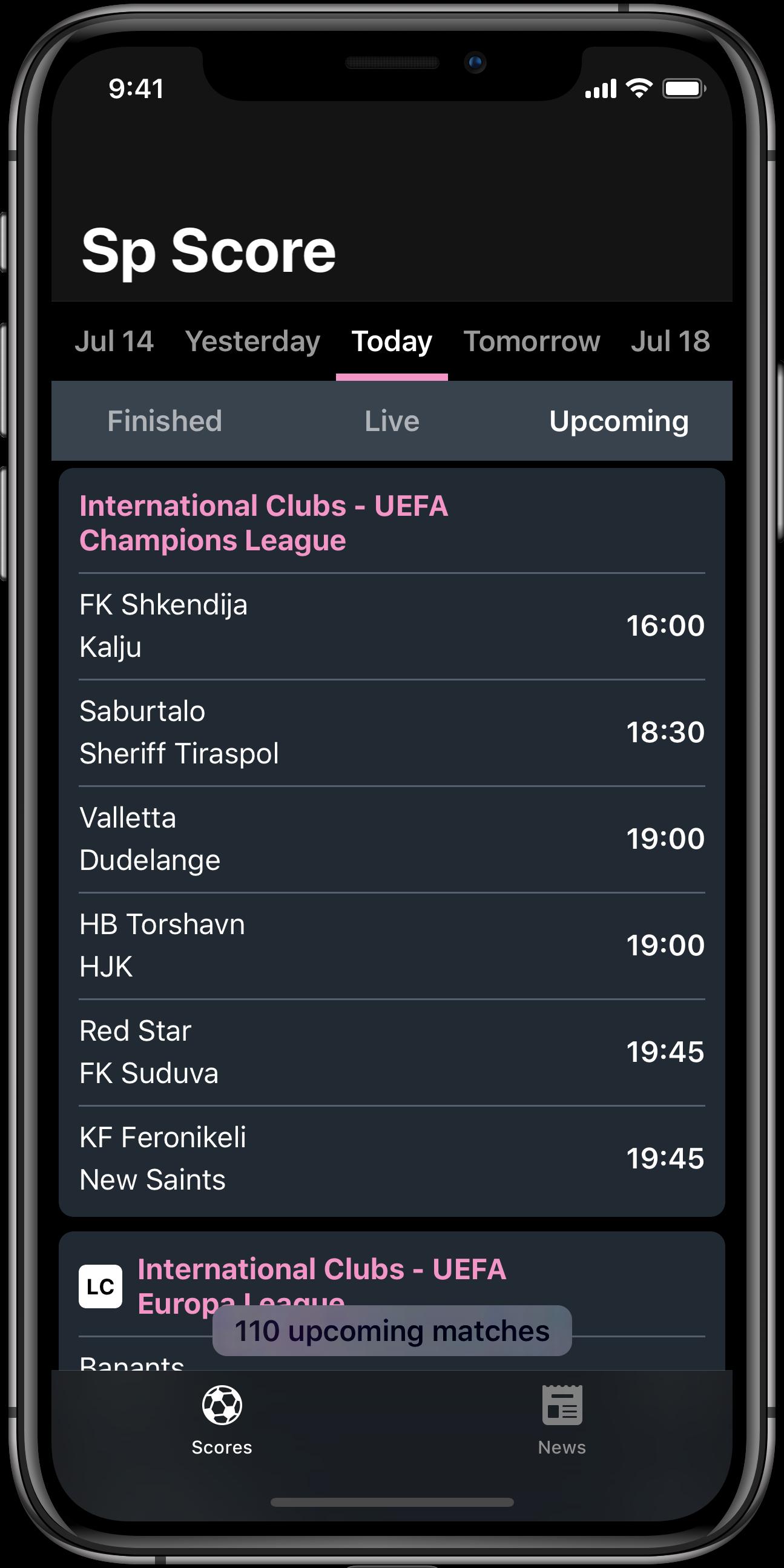 Live Scores | Sport Fixtures & Results| www SportPesaScore com